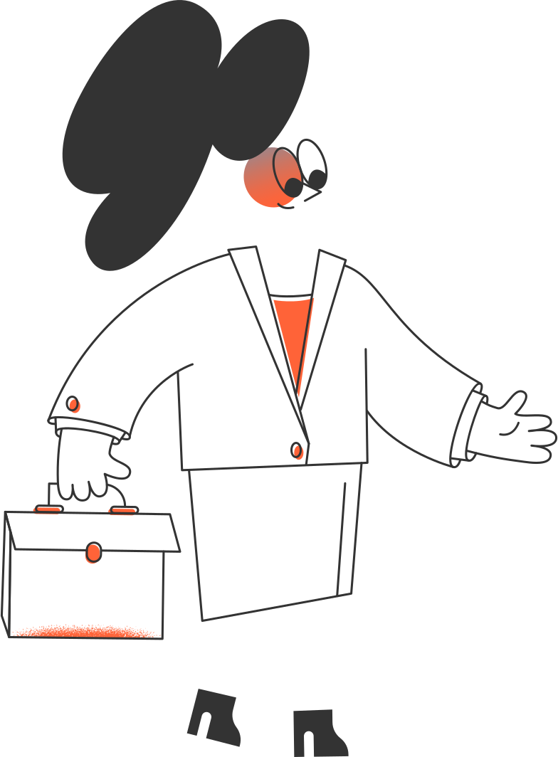 geschäftsfrau Clipart-Grafik als PNG, SVG