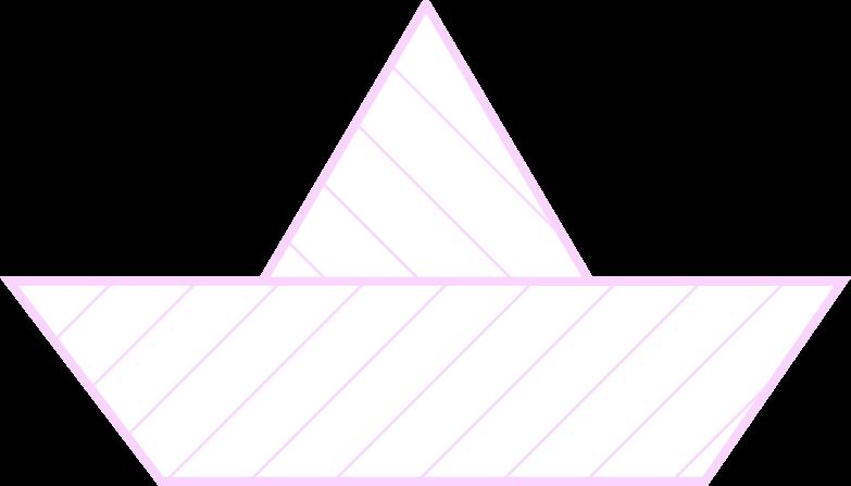 paper boat Clipart illustration in PNG, SVG