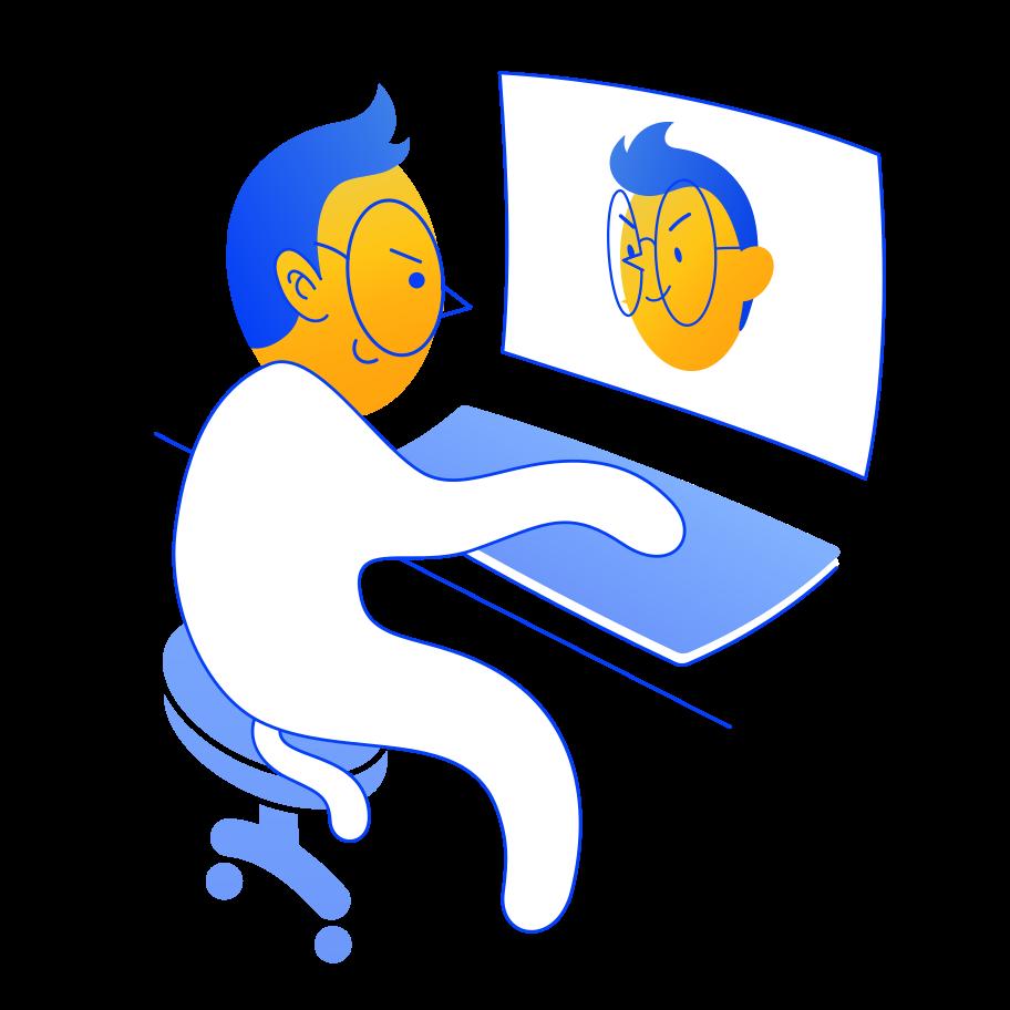 Ilustración de clipart de Espejo en PNG, SVG