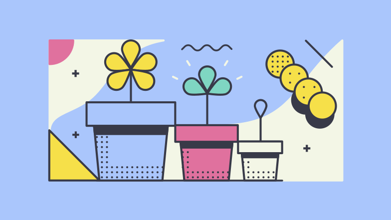 Plant growth Clipart illustration in PNG, SVG