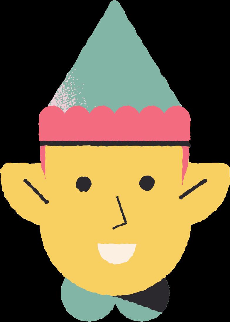 elf Clipart illustration in PNG, SVG