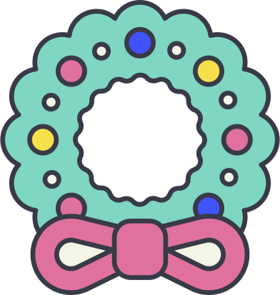 style christmas wreath images in PNG and SVG   Icons8 Illustrations