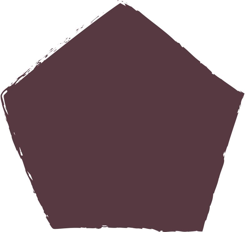 style pentagon-dark-brown Vector images in PNG and SVG | Icons8 Illustrations