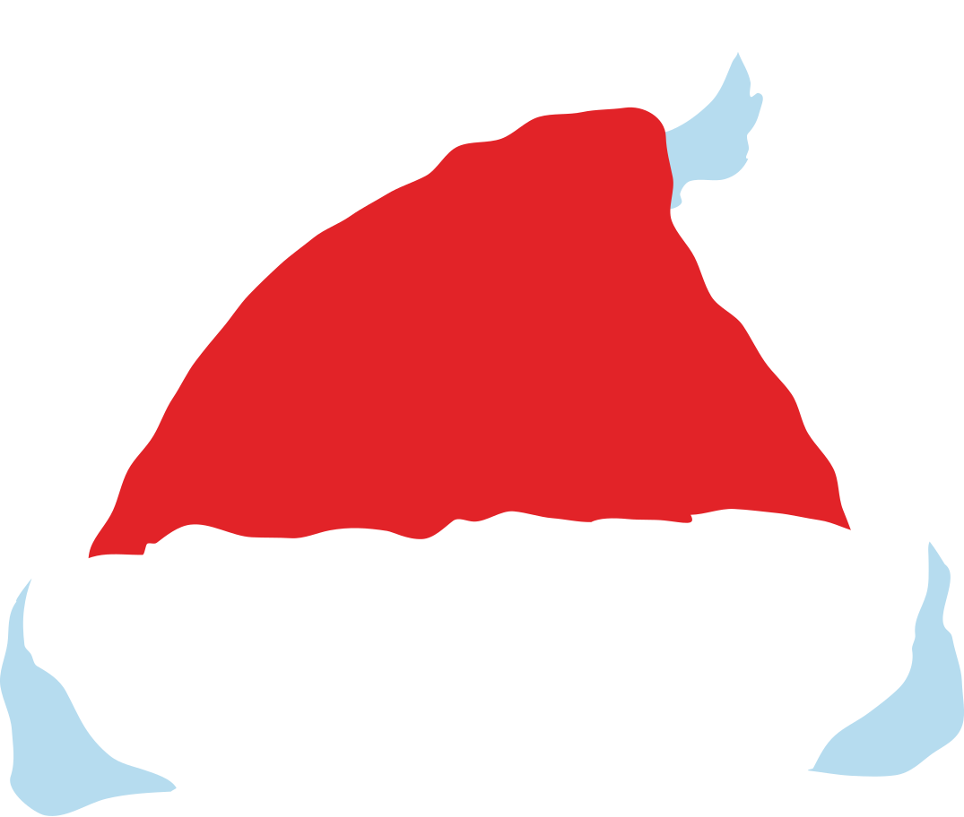 christmas hat front Clipart illustration in PNG, SVG