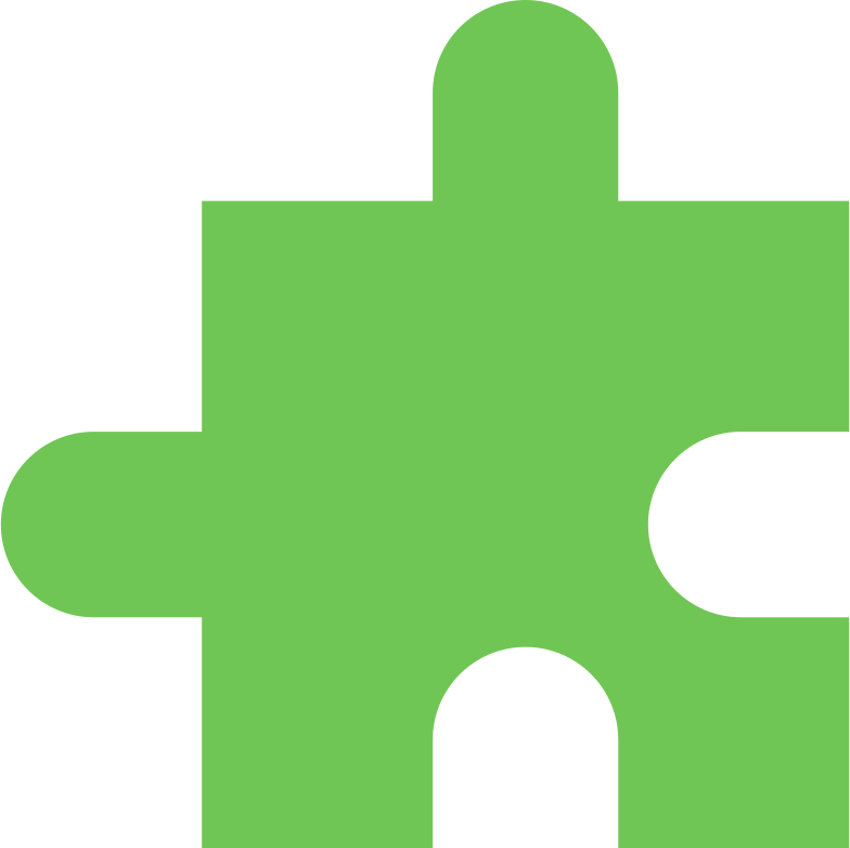 puzzle piece light lime Clipart illustration in PNG, SVG