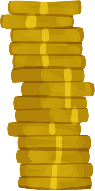 style big stack of coins images in PNG and SVG | Icons8 Illustrations