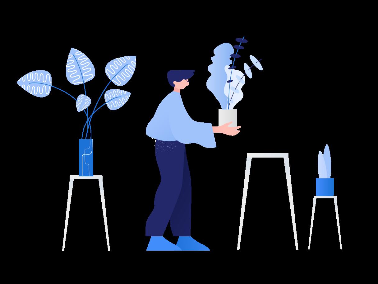 Gardening hobby Clipart illustration in PNG, SVG