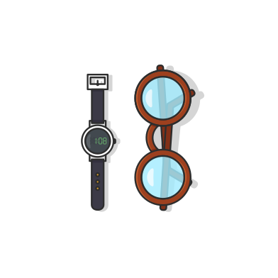 style Watch spectacle images in PNG and SVG | Icons8 Illustrations