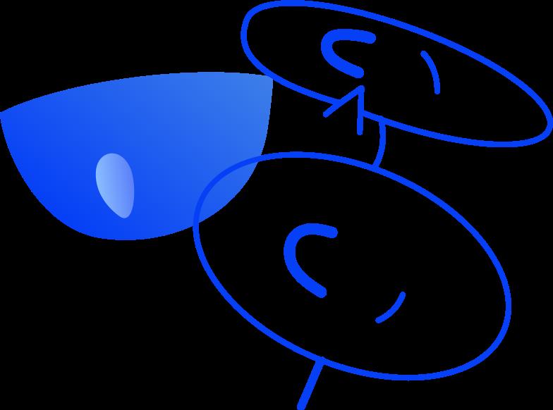Gesicht Clipart-Grafik als PNG, SVG