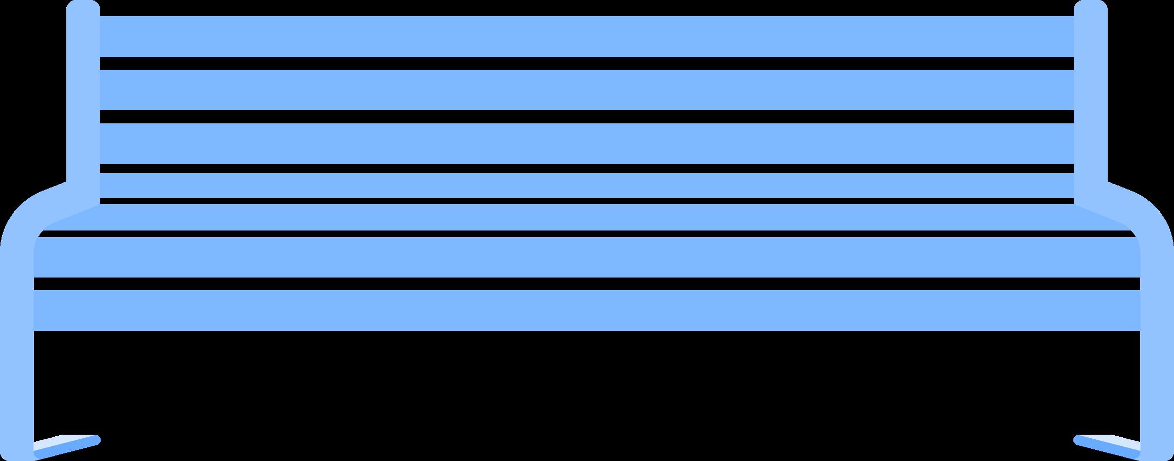 bench Clipart illustration in PNG, SVG