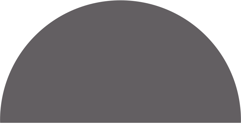 semicircle grey Clipart illustration in PNG, SVG