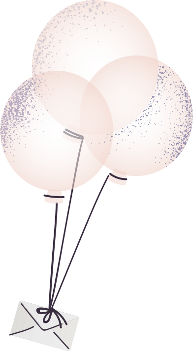 style letter on balloons images in PNG and SVG | Icons8 Illustrations