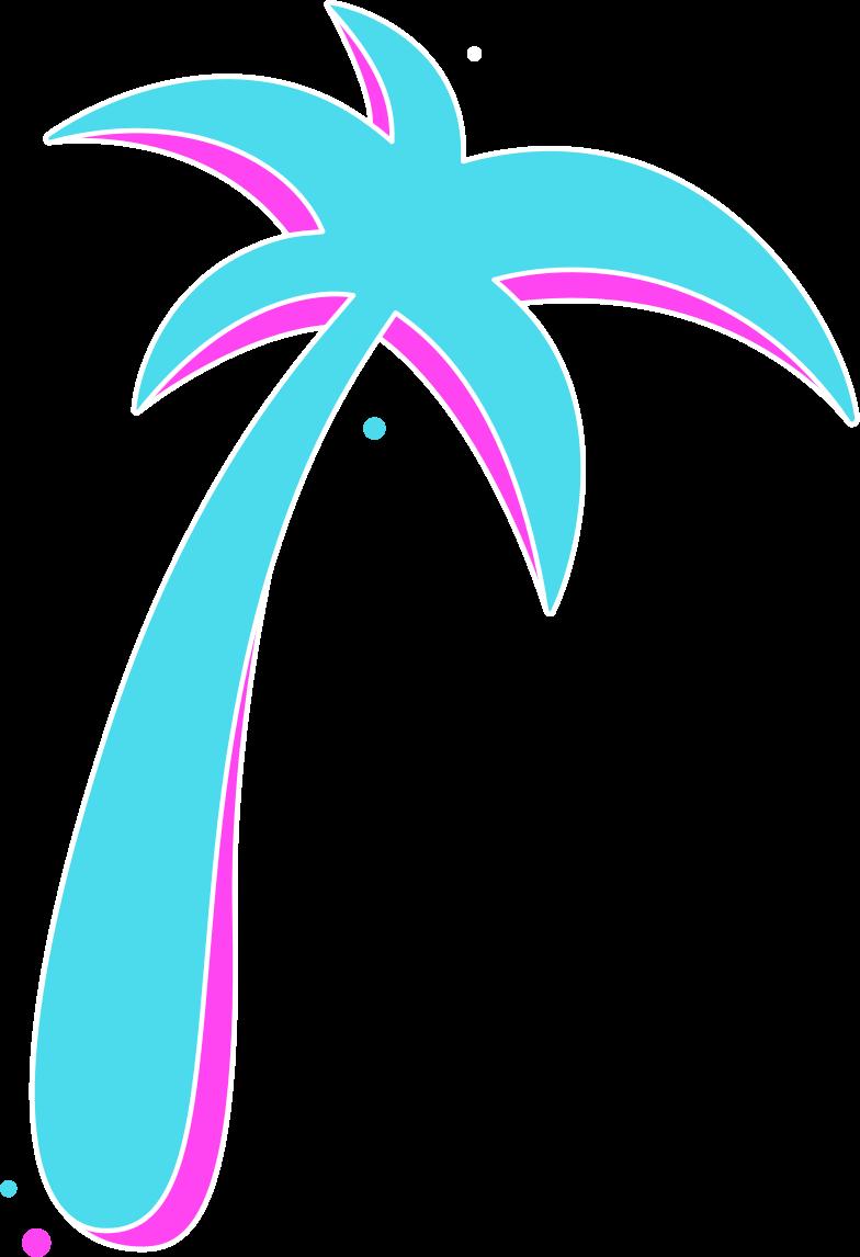 Imágenes vectoriales palma azul rg en PNG y SVG estilo  | Ilustraciones Icons8