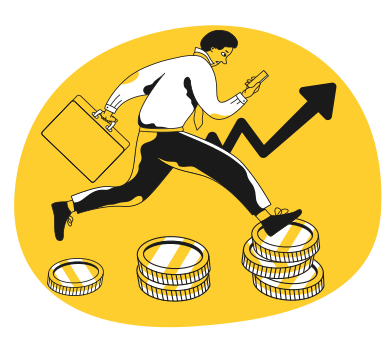 style Business growth images in PNG and SVG | Icons8 Illustrations