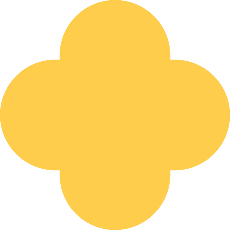 quatrefoil-yellow Clipart illustration in PNG, SVG