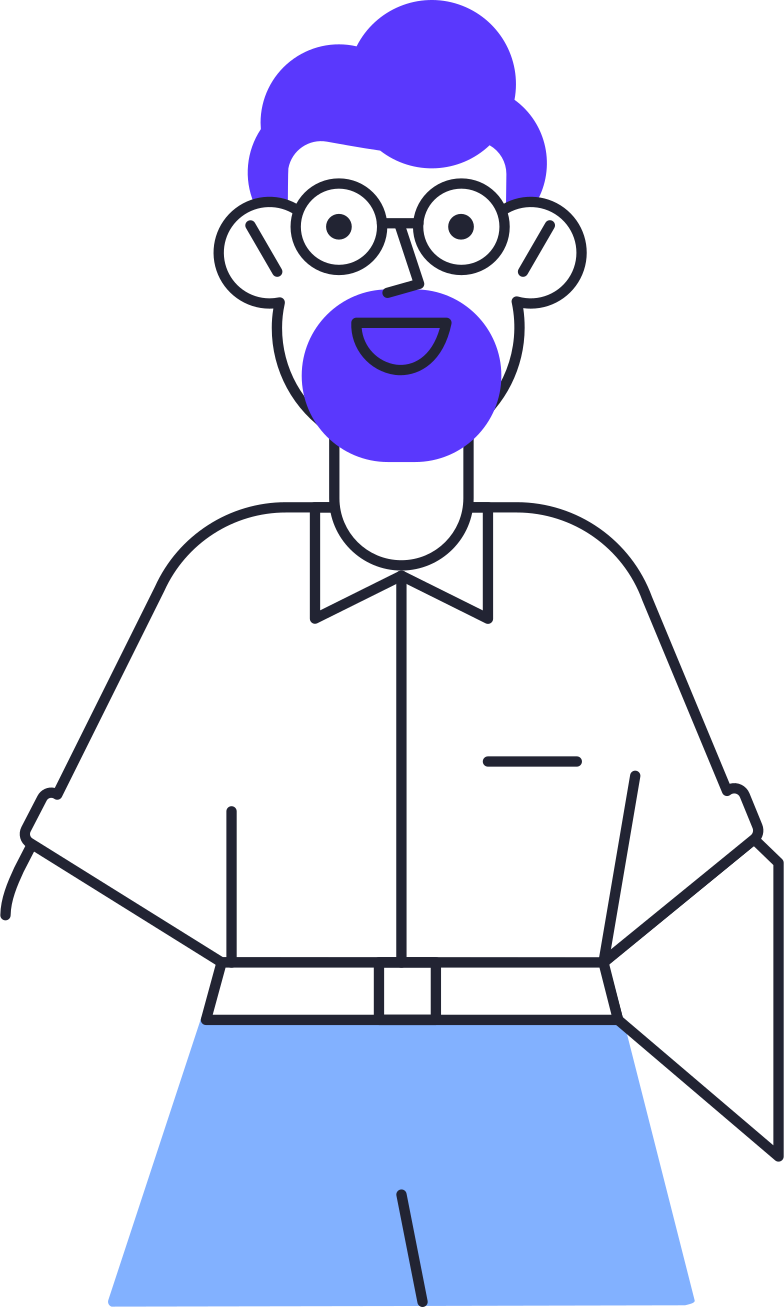 face id  man Clipart illustration in PNG, SVG