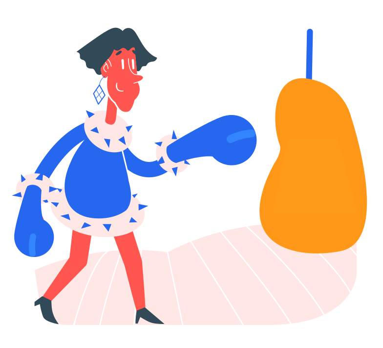 boxing Clipart illustration in PNG, SVG