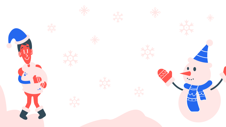 Making a snowman Clipart illustration in PNG, SVG