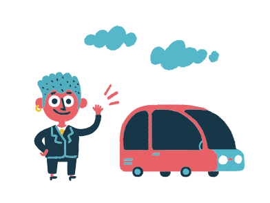 style Your driver is here images in PNG and SVG | Icons8 Illustrations