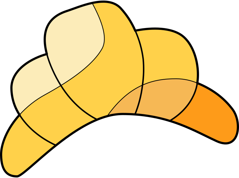 style croissant Vector images in PNG and SVG | Icons8 Illustrations