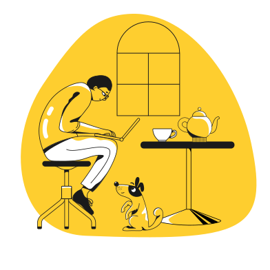 style Home working images in PNG and SVG | Icons8 Illustrations