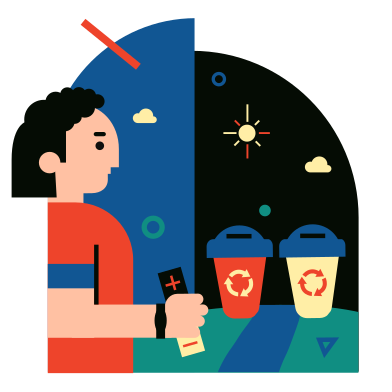 style Garbage separation images in PNG and SVG   Icons8 Illustrations