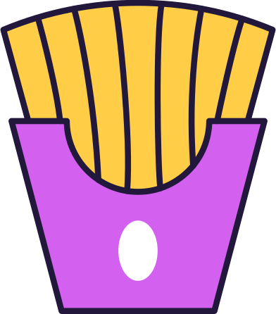 style fries images in PNG and SVG | Icons8 Illustrations