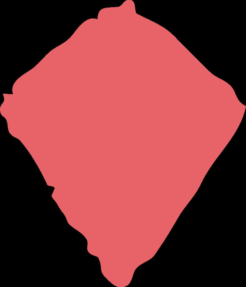 kite shape Clipart illustration in PNG, SVG