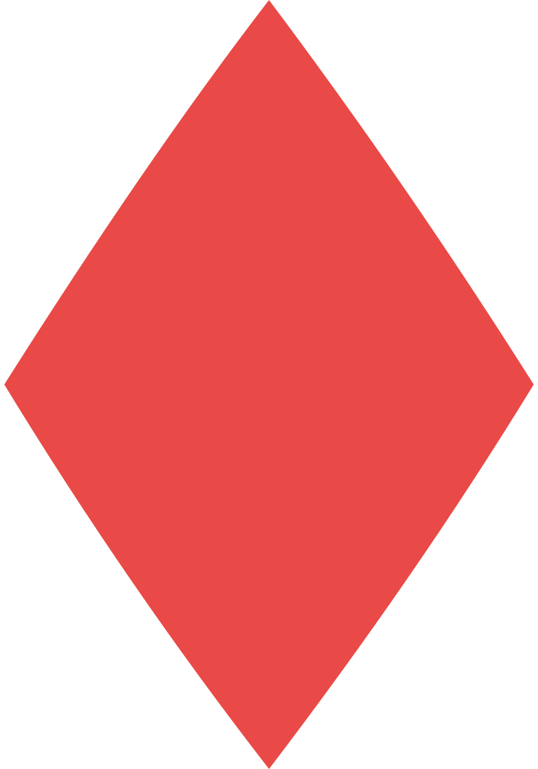 rhombus red Clipart illustration in PNG, SVG