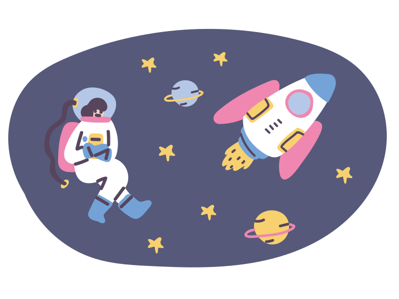 Cosmos Clipart illustration in PNG, SVG