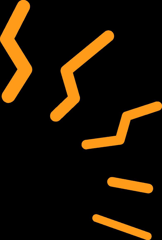 electric sparks Clipart illustration in PNG, SVG