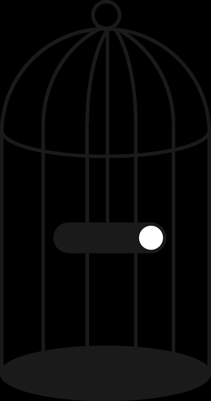 birdcage Clipart illustration in PNG, SVG