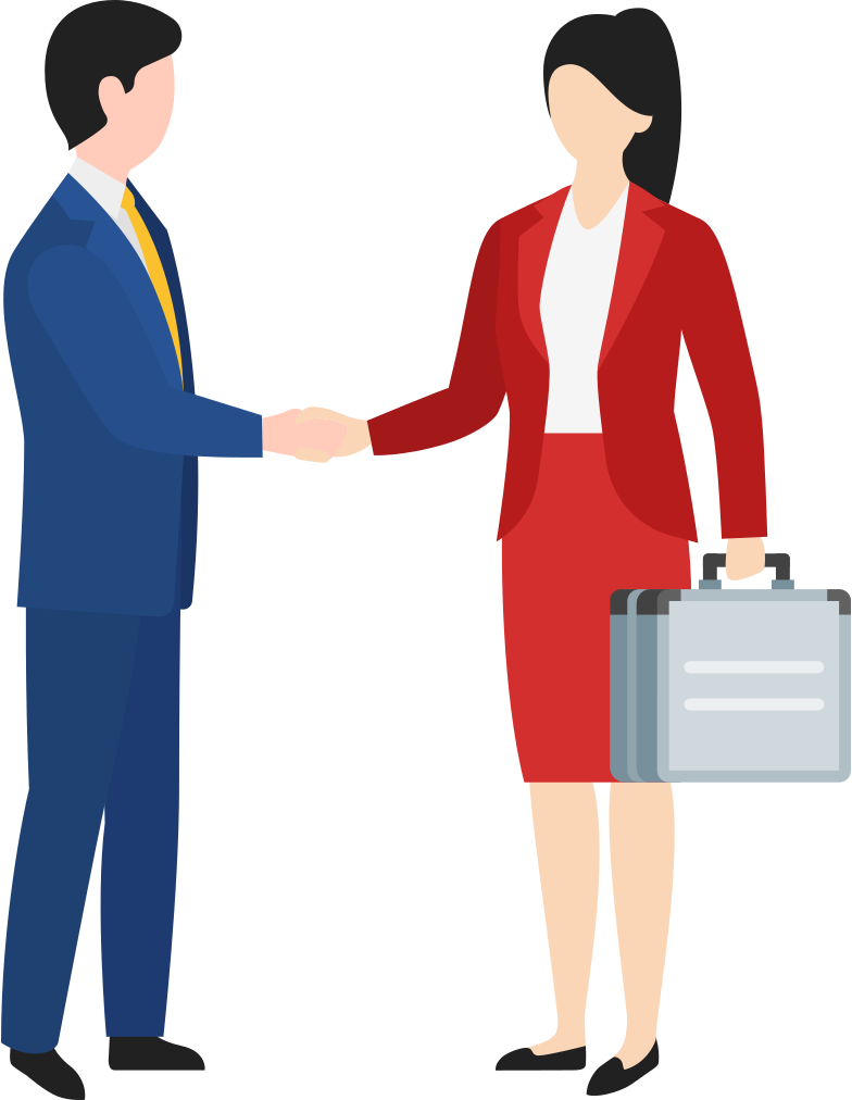 finance deal Clipart illustration in PNG, SVG