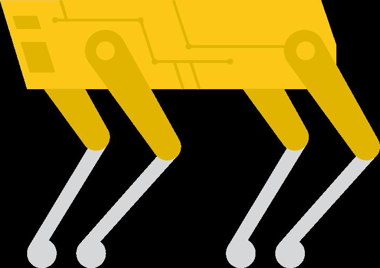 robot spot Clipart illustration in PNG, SVG