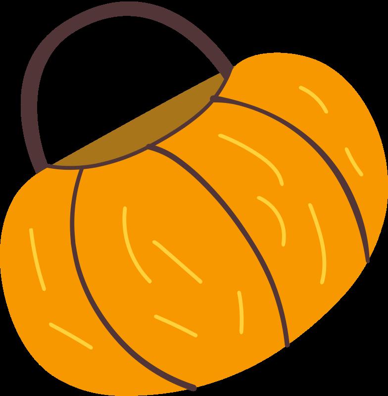 cesto di zucca Illustrazione clipart in PNG, SVG