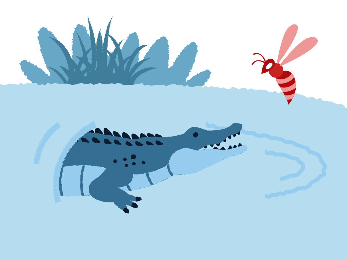 Dangerous enemy Clipart illustration in PNG, SVG