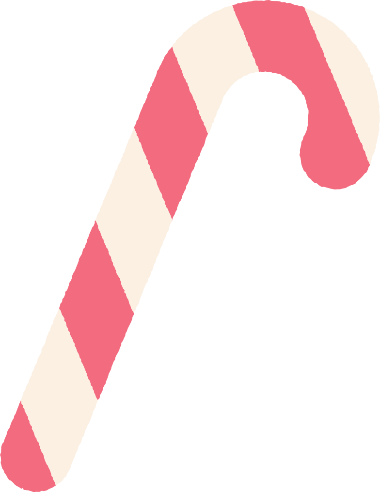 candy cane Clipart illustration in PNG, SVG