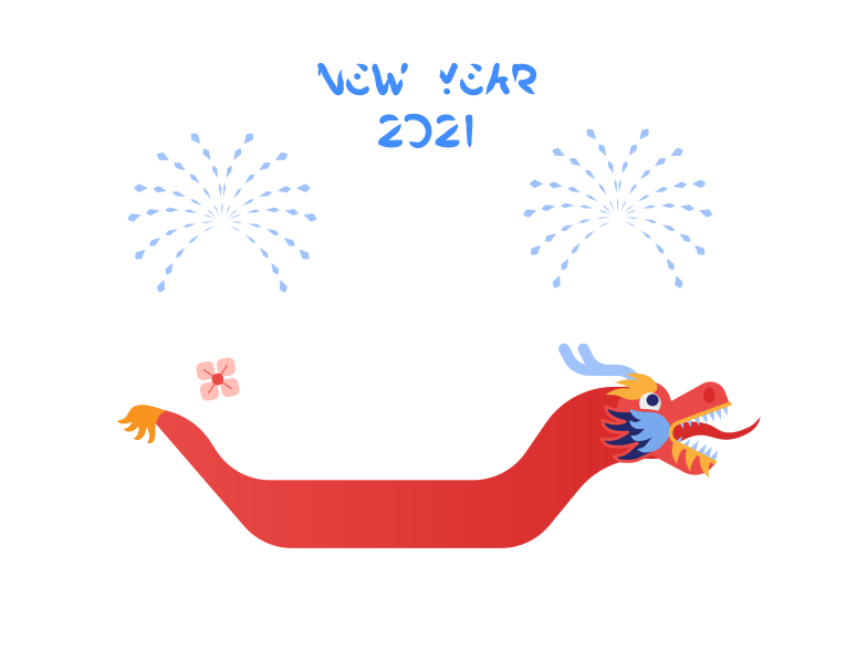 Chinese New Year 2021 Clipart illustration in PNG, SVG