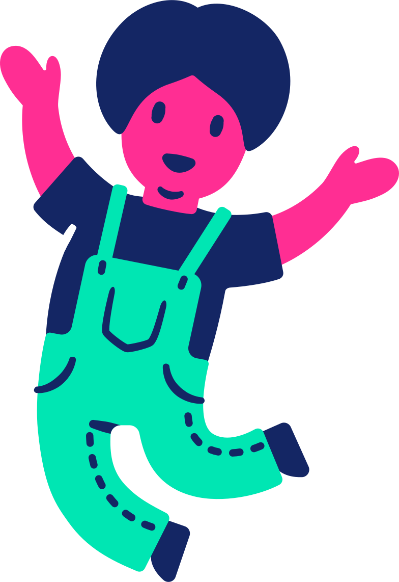 child jumping Clipart illustration in PNG, SVG