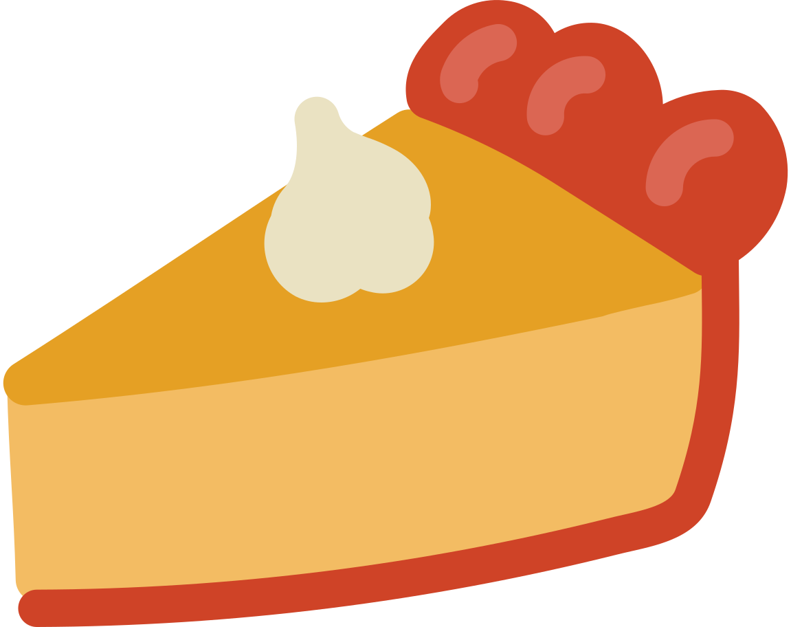 t pie Clipart illustration in PNG, SVG
