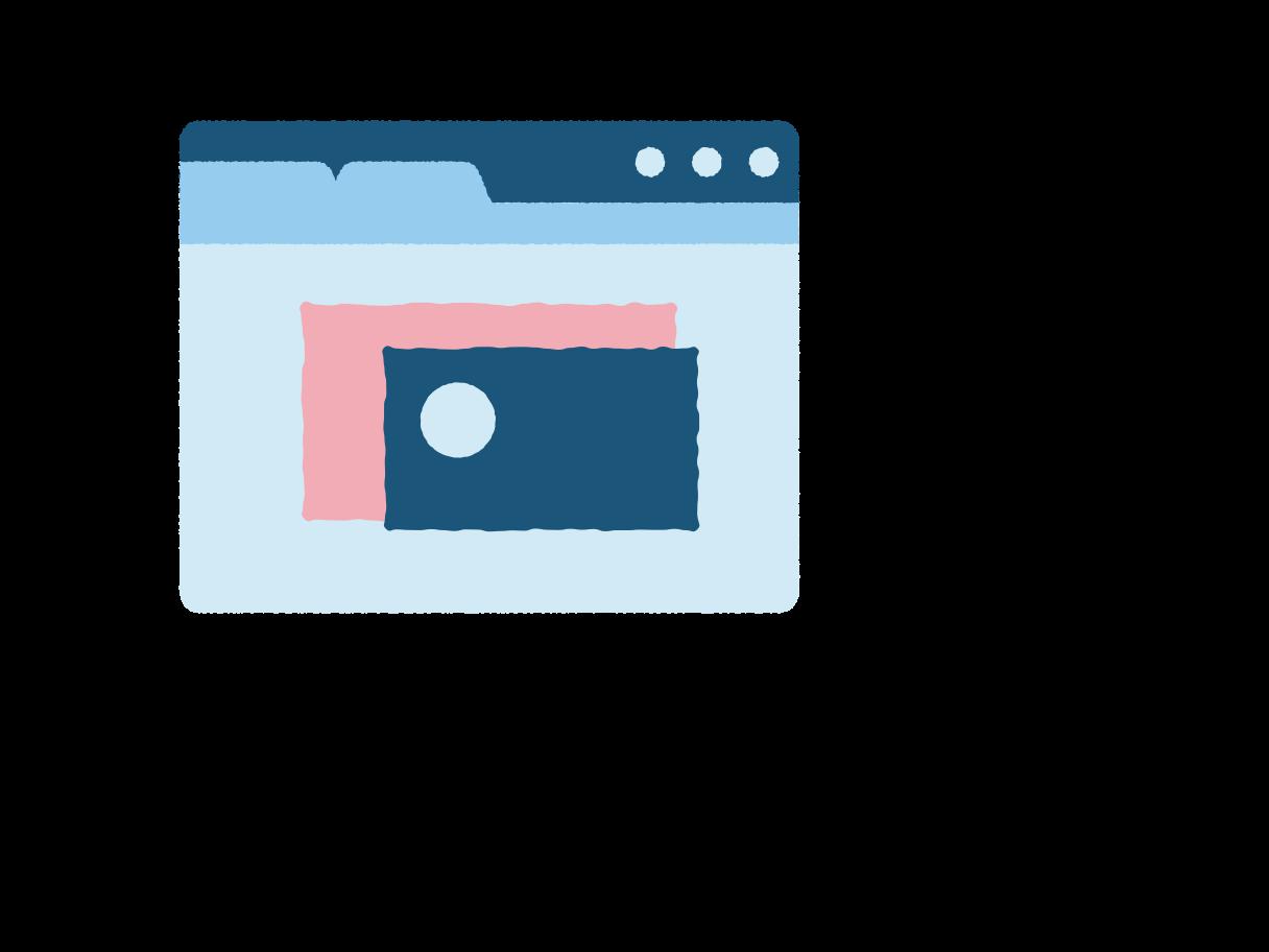 Einen beitrag im internet verfassen Clipart-Grafik als PNG, SVG