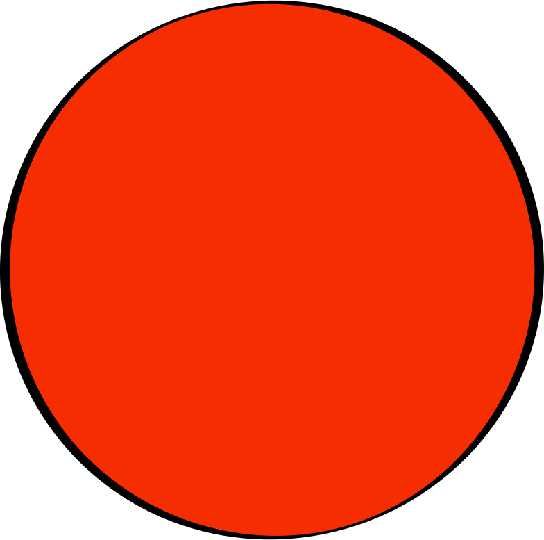 red sun Clipart illustration in PNG, SVG