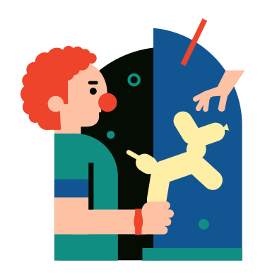 style Clown images in PNG and SVG | Icons8 Illustrations