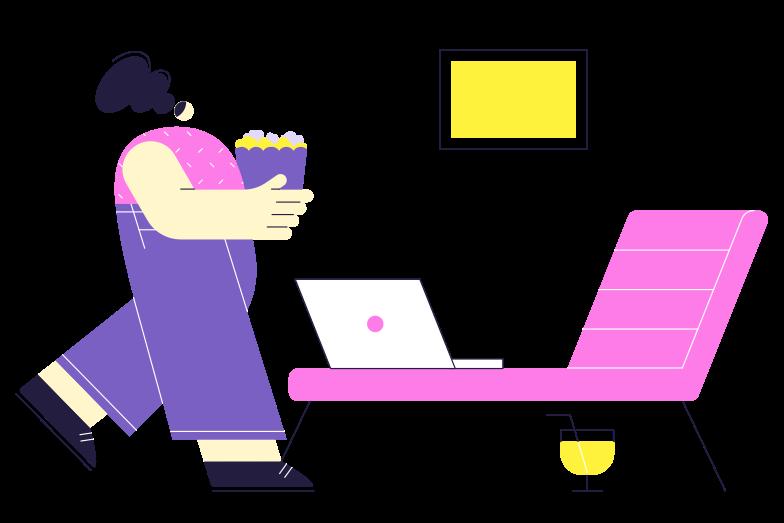 Rest time Clipart illustration in PNG, SVG
