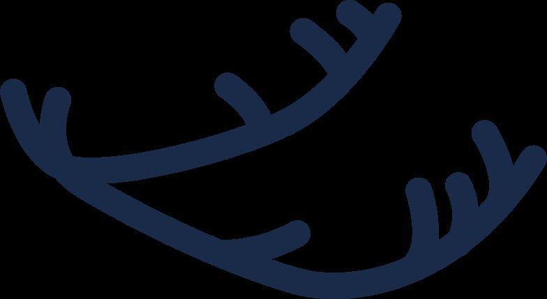deer horns Clipart illustration in PNG, SVG