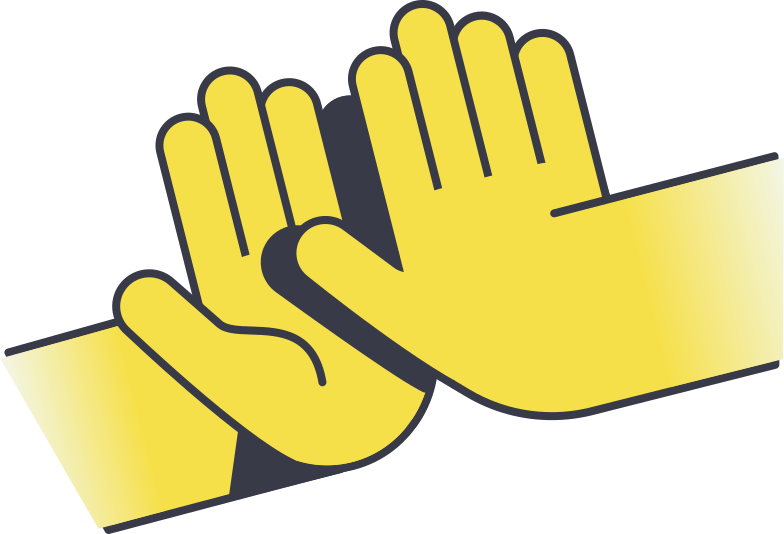 style high five Vector images in PNG and SVG | Icons8 Illustrations