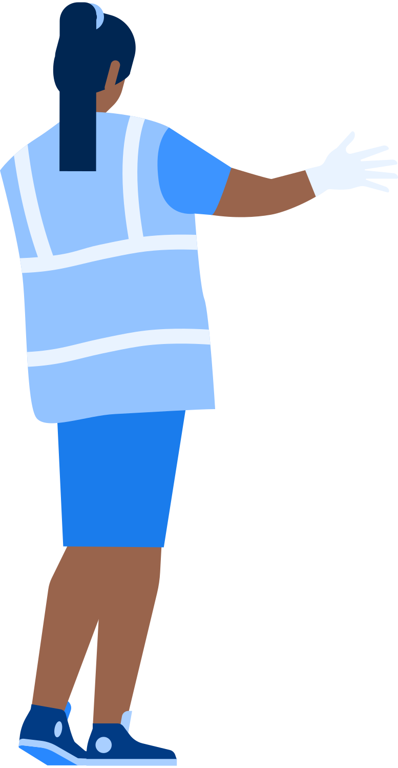 airport worker Clipart illustration in PNG, SVG