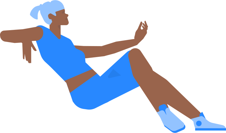 woman sitten Clipart illustration in PNG, SVG