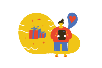 style Sending the gift  images in PNG and SVG   Icons8 Illustrations