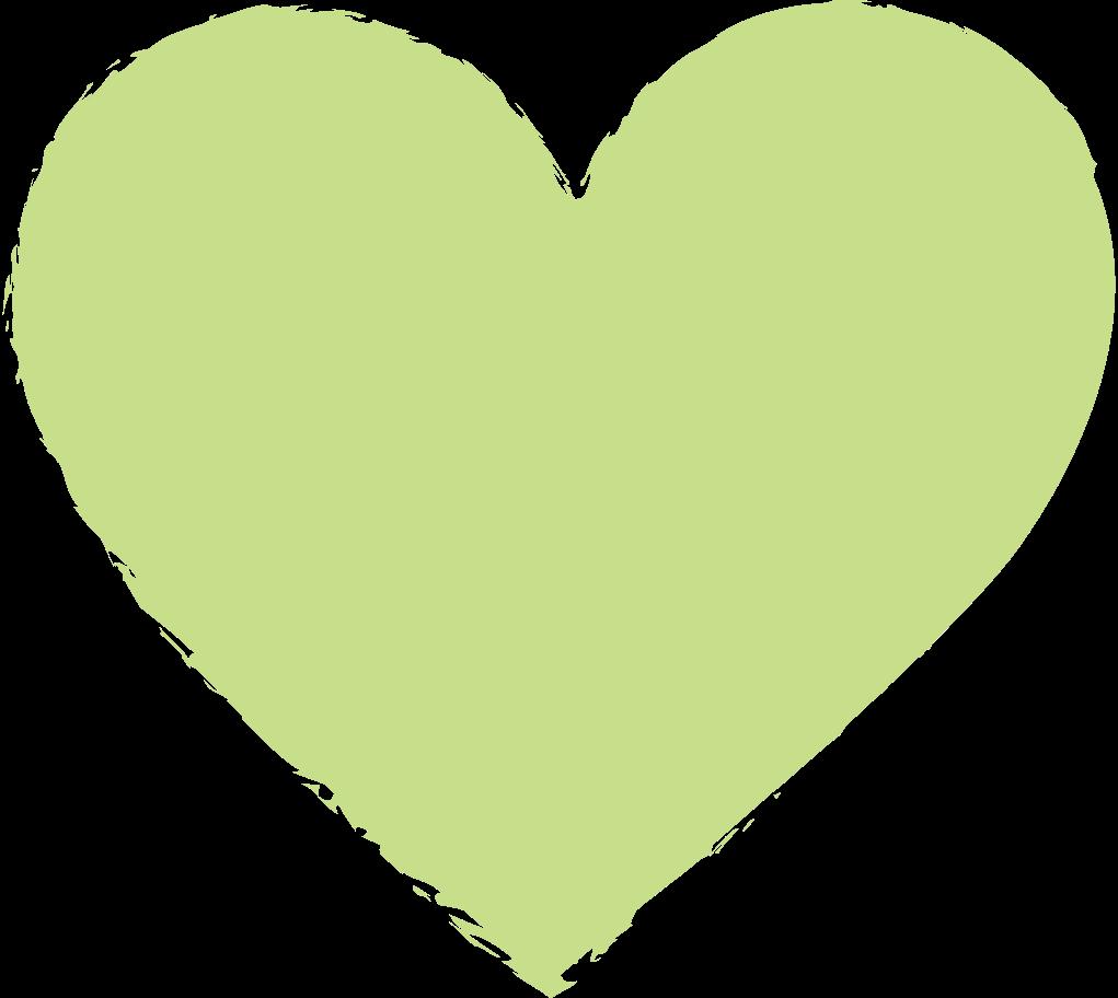 heart-light-green Clipart illustration in PNG, SVG